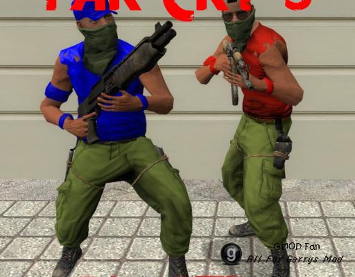 Far Cry 3 Pirate Assaulter