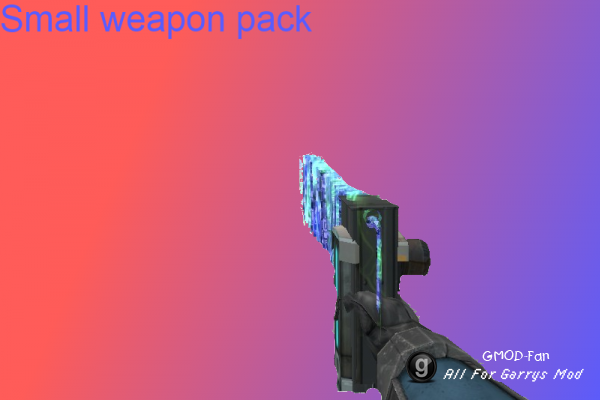 Small weapon pack by TheLLage