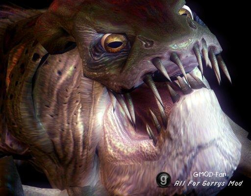 Half-Life 2 Ichthyosaur Ragdoll