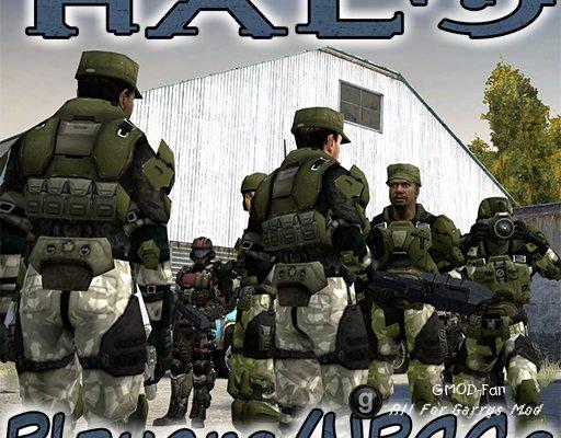 Halo UNSC Players & NPCGs