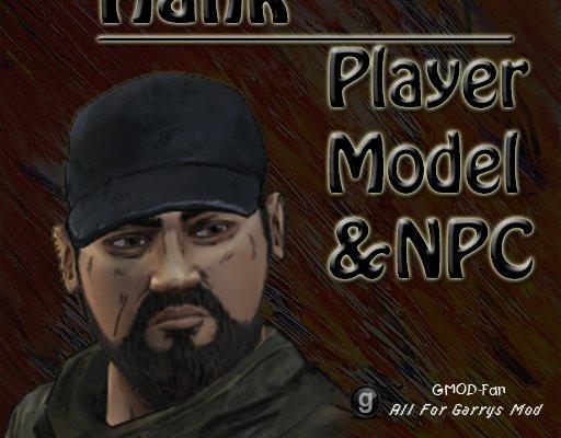 The Walking Dead- Hank Player model