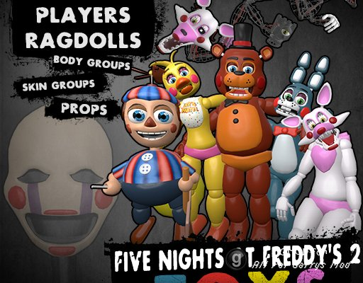 Five Nights at Freddy's 2 Toys