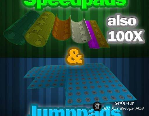 Speedpads & Jumppads