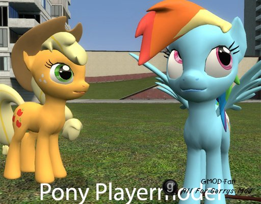 Pony Playermodel and NPC