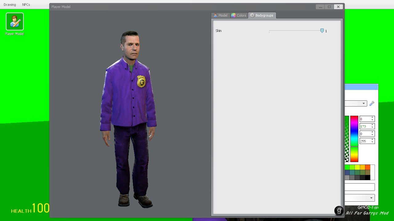 Purple Guy Playermodel/NPC [FNAF 2]