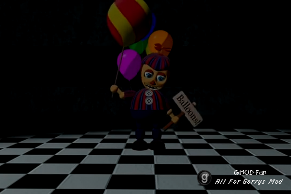 [SFM FNAF2] Foxy Meets Balloon Boy