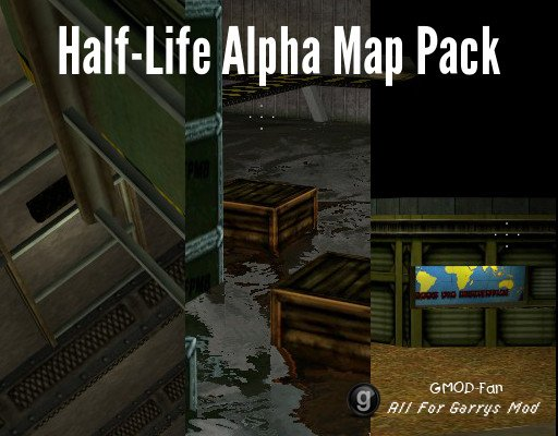 Half-Life Alpha: Map Pack