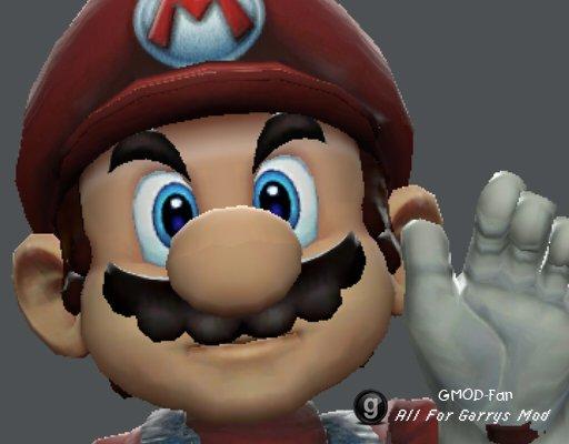 SSBB Mario Playermodel(BETA)
