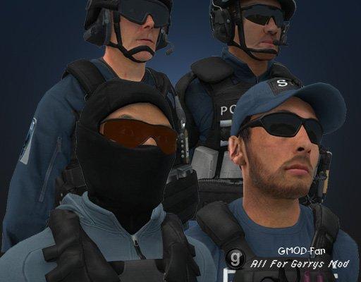 Battlefield Hardline: SWAT Playermodels