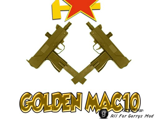 MAC10 Gold