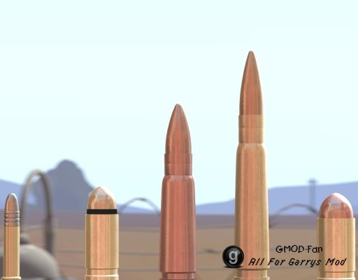 Ridiculously HD Bullet Models