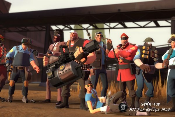Team fortress 2 bots beta скачать