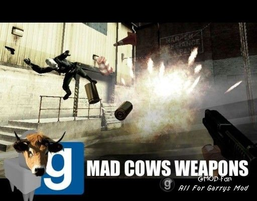 Ender's Mad Cows Weapons