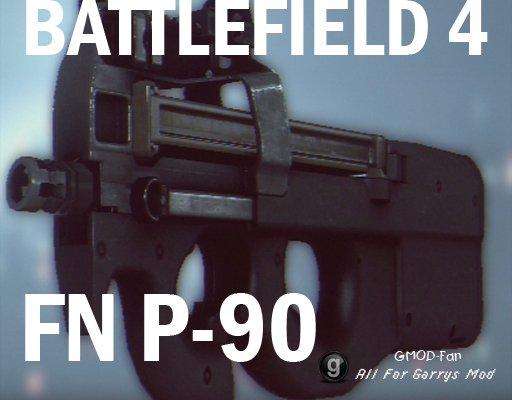 Battlefield 4 FN P-90