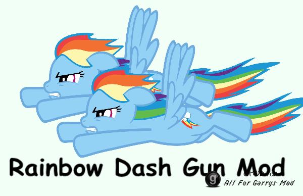 Rainbow Dash Gun Mod