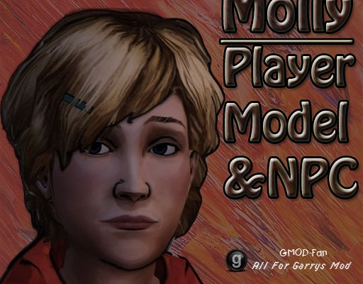 The Walking Dead- Molly Player Model & NPC
