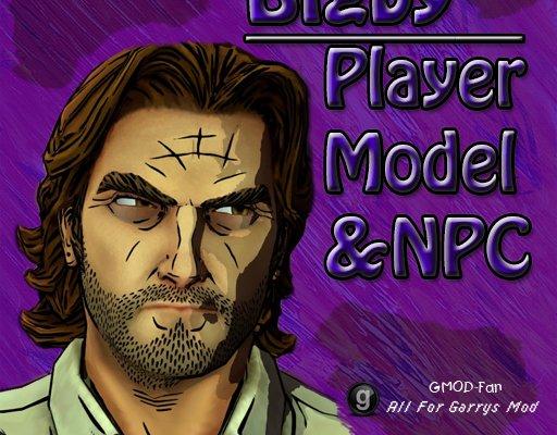 The Wolf Among Us- Bigby Player Model & NPC