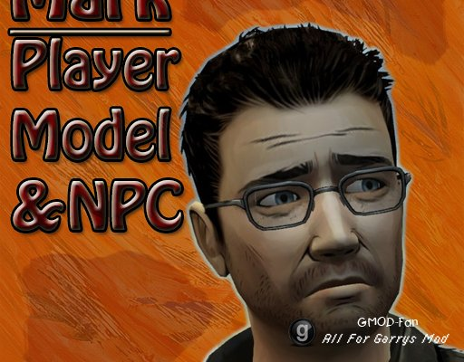 The Walking Dead- Mark Player Model & NPC