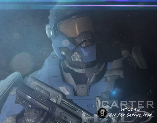 Halo Reach: Carter (Playermodel/NPC/Ragdoll)