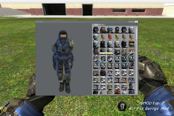 Halo Reach: Carter (Playermodel/NPC/Ragdoll)