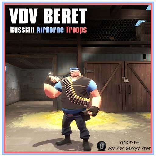 TF2 Hex VDV Beret