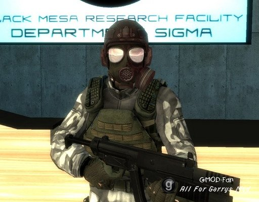 Black Mesa NPC Weapons