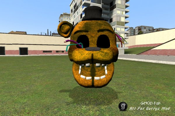 Withered Golden Freddy NPC / ENT (RafaX45)