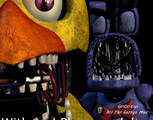 Five Nights at freddy's 2 withered player model pack V1
