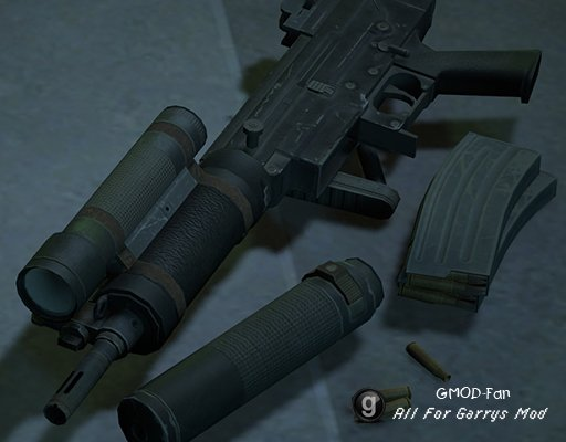 MGSV:GZ - Weapons PROPS