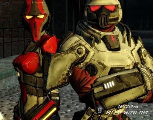Borderlands Assassin & Crimson Lance Trooper