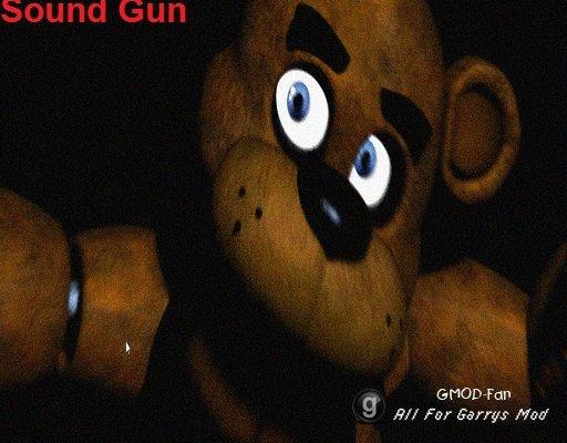 Five Nights At Freddys Sound Gun