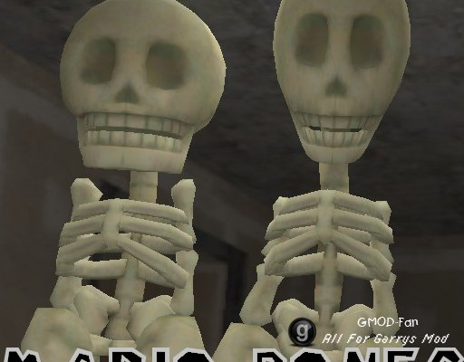 Mario Bones  Playermodel  NPC