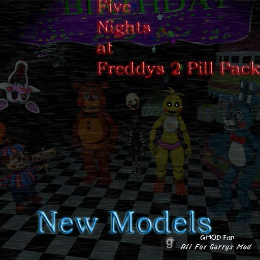 Five Nights At Freddys 2 Pill Pack [I6NIS Models]
