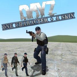 Arma 2 DayZ Mod - Player Model