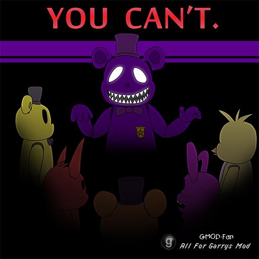 [FNAF3] Purple Freddy