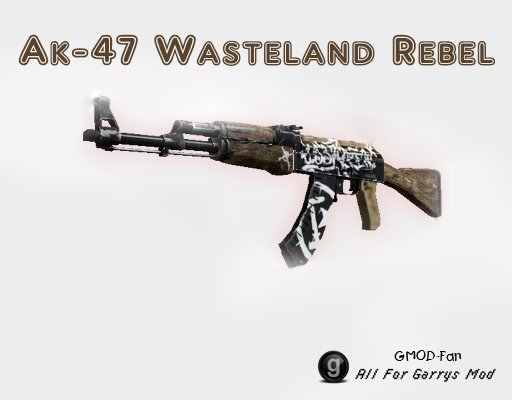Ak-47 Wasteland Rebel