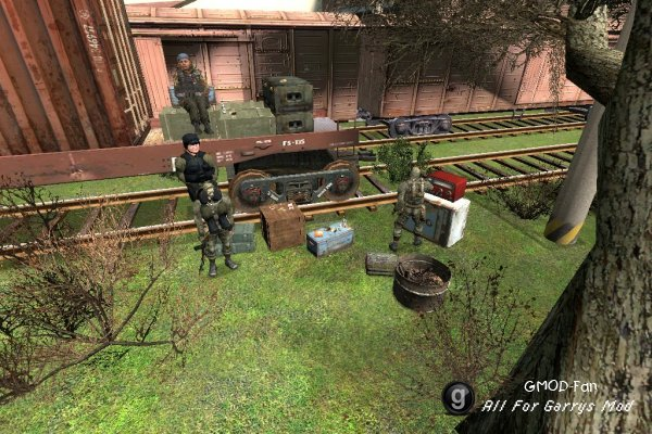 S.T.A.L.K.E.R. Radio mod and Items reskins