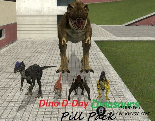 Dino D-Day Dinosaurs Pill Pack
