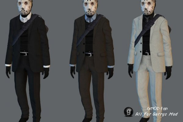 Suits and Robbers Player Models