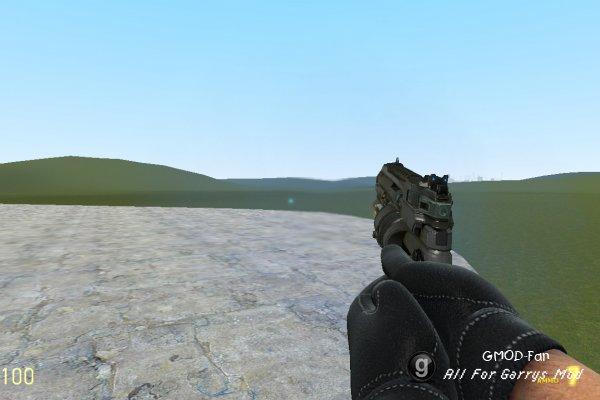 Sci-Fi X-8 Energy Pistol