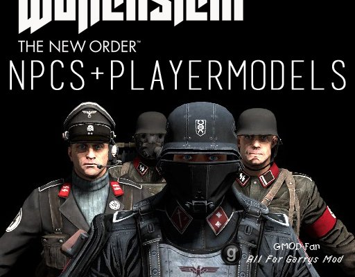 Wolfenstein Soldat NPCs and Playermodels