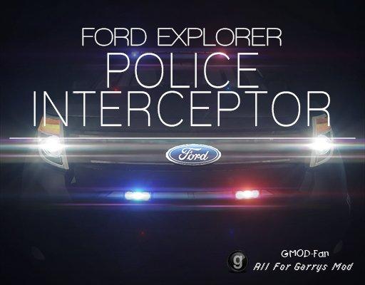 [Photon] Ford Explorer Police Interceptor Pack