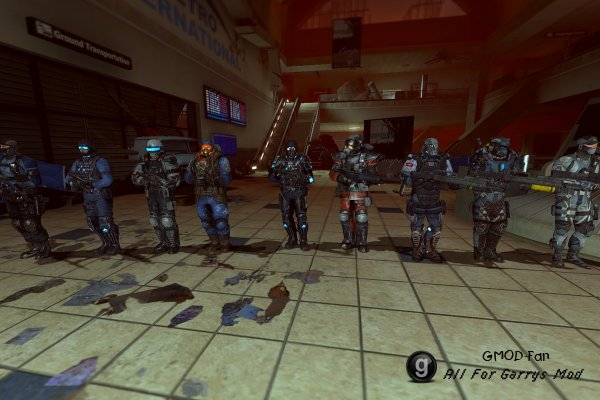 Fear 3 Enemy Forces (Playermodels/NPCs)