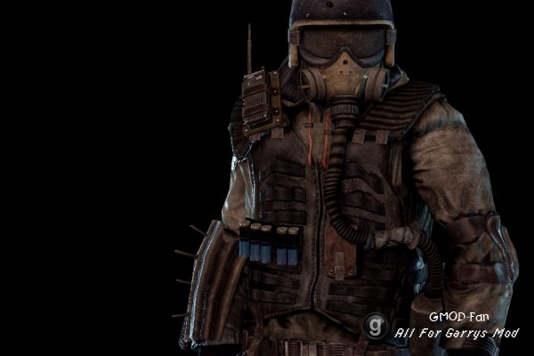 Metro: Last Light - Hansa Soldier - Playermodel and Ragdoll
