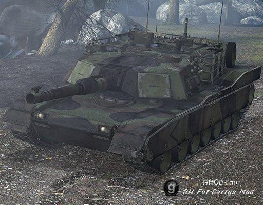 M1A1 Abrams Pack RAGDOLLS