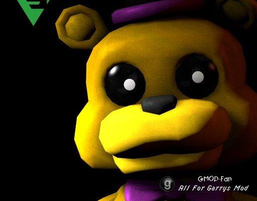 Fredbear Plushie (+ Nightmare skin)