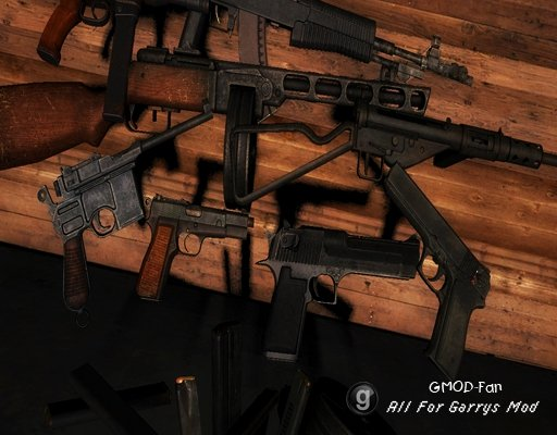 Millinia's Random Weapon Pack