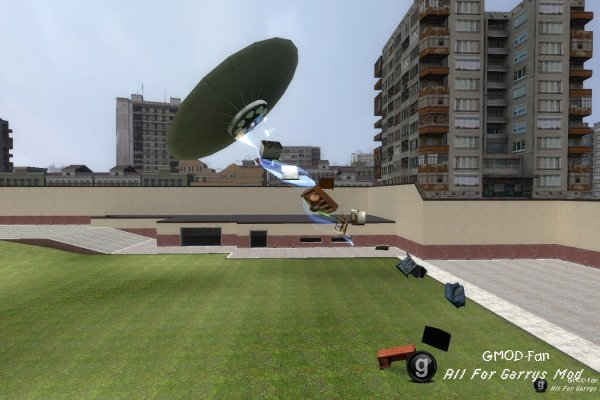 UFO (Version for gmod 13)