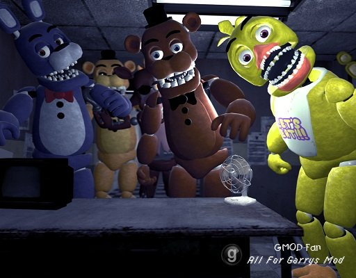 Five Nights At Freddys Unwithered
