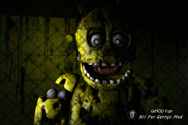 Five Nights At Freddy's 3 Springtrap